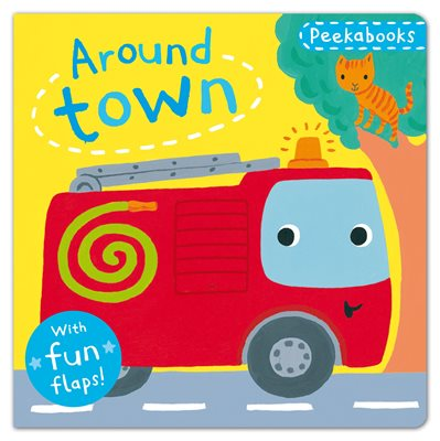 Book cover for Peekabooks: Around Town